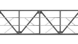 bar building truss